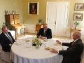 FOTO Slovenskí prezidenti sa zišli na hrade: O čom hovorili hlavy našej krásnej krajiny?