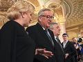 FOTO Historicky prvé rumunské predsedníctvo otvorené: Dôvera najvyšších lídrov EÚ, protest
