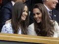 Vojvodkyňa Kate so sestrou Pippou.