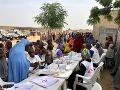 Príliv osôb vysídlených v krajine Maiduguri
