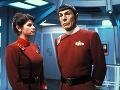 Kirstie Alley vo filme Star Trek.