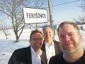 Ľubomír Galko spolu s kolegami navštívil obec Fekišovce