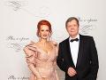 Vlado Černý ,riaditeľ divadla Astorka Korzo 90 s manželkou Ivetou Černou