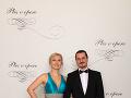 Köppl Jozef, zástupca prednostu Detská klinika anestéziológie a intenzívnej medicíny, predseda Slovenskej Resuscitačnej Rady s manželkou Blankou Köpplovou