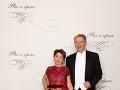 Princ Peter ,producent Plesu v opere, agentúra Monarch s manželkou Helenou Princovou