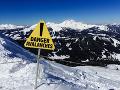Populárne lyžiarske stredisko plače: Mal to byť bežný úkon, osud mal však iné plány