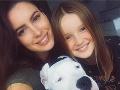 Lucia má dcérku Lenku.