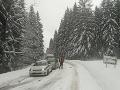 ONLINE Mimoriadna situácia v Žilinskom kraji: Keď nemusíte nechoďte nikam autom, radí polícia