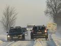 Východné Slovensko trápia snehové jazyky: Ráno namerali rekordne nízke teploty