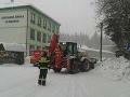 Sneh v obci Klokočov