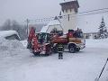 Sneh v Oravskej Lesnej