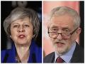 Theresa Mayová a Jeremy Corbyn