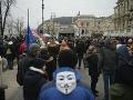 V Budapešti pokračovali protesty proti vláde Viktora Orbána.