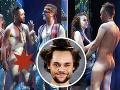 Úplne nahý na javisku: Herec na premiére muzikálu ukázal holého pindíka!