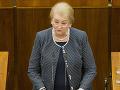 Europoslankyňa odchádza po hádkach s Hlinom: Začiatok rozpadu KDH?