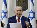 Netanjahu po víťazstve vo voľbách: Zložil prísahu pred novým parlamentom