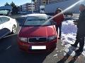 FOTO Vodič si neoškrabal čelné sklo, za chabý argument ho policajti potrestali, top hlášky Slovákov
