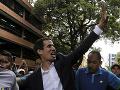 Venezuelský opozičný líder Juan Guaidó sa vyhlásil za
