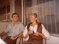 Šebastián Timko a Zuzana Timková v roku 1985
