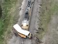 VIDEO Hrozivá nehoda v Texase: Zrážku školského autobusu s vlakom neprežil jeden žiak