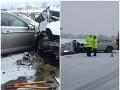 Vodič a spolujazdkyňa (†40) nemali šancu, pod smrteľnú zrážku pri Ilave sa podpísalo husté sneženie