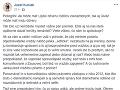 Jozef Kuciak napísal odkaz Pellegrinimu.