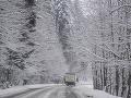 Dobré správy pre vodičov: Všetky cesty sú v poriadku, pozor však na poľadovicu