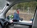 Afričan bol zadržaný na colníkmi na diaľnici D1.