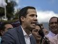 Napätie vo Venezuele by sa dalo krájať: Guaidó nevylúčil možnosť intervencie USA