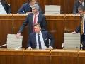 Mimoriadna schôdza parlamentu: VIDEO Danko prežil aj tretí pokus o jeho odvolávanie