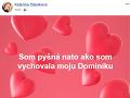 Svoju dcéru si bráni aj Katarína Cibulková.