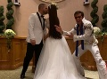 FOTO Plačková sa druhýkrát vydala: Biele šaty, hracie automaty... Oddával ich Elvis!