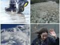 Varovania meteorológov na nedeľu: Hrozia spontánne lavíny, povodne, úradovať bude aj vietor