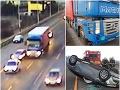 Dopravná nehoda na D1.