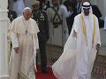 Pápež František sa stretol s vrcholnými predstaviteľmi Emirátov.