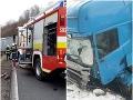 PRÁVE TERAZ Tragická nehoda pri Svidníku: FOTO Cesta je neprejazdná, Peter (†46) nemal šancu