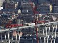 Demolácia zvyškov Morandiho mosta