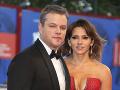 Matt Damon a Luciana Barroso