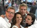 Vlado Voštinár s manželkou a deťmi