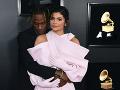 Kylie Jenner so svojou láskou Travisom Scottom.
