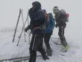 Šestica turistov precenila svoje schopnosti: V Nízkych Tatrách ich ratovali záchranári