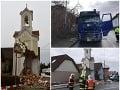 Kamión zdemoloval historickú kaplnku: Hrôzostrašné VIDEO, starostka chce zrúcaninu zachrániť