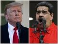 Tvrdá rana pre Madura: Trump zmrazil všetok majetok venezuelskej vlády na území USA