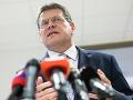 Chcem byť nezávislým a nadstraníckym prezidentom, vyhlásil Šefčovič v Košiciach