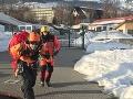 Záchranná služba bije na poplach: FOTO Zranená žena a turisti v Tatrách, sneh je zle rozložený