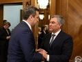 FOTO Andrej Danko sa v Moskve stretol so šéfom Dumy: Ruska sa nevzdá, hovoril o slniečkaroch