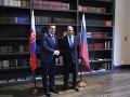 Danko ubezpečil Lavrova, že Slovensko chce mať s Ruskom dobré vzťahy