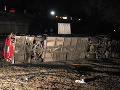 FOTO Tragická nehoda v Severnom Macedónsku: V prevrátenom autobuse zahynulo 14 ľudí