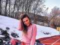 Tatiana Žídeková je veľmi aktívny človek.