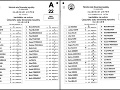 Hlasovanie Bélu Bugára v prvom (naľavo) a v druhom kole.
